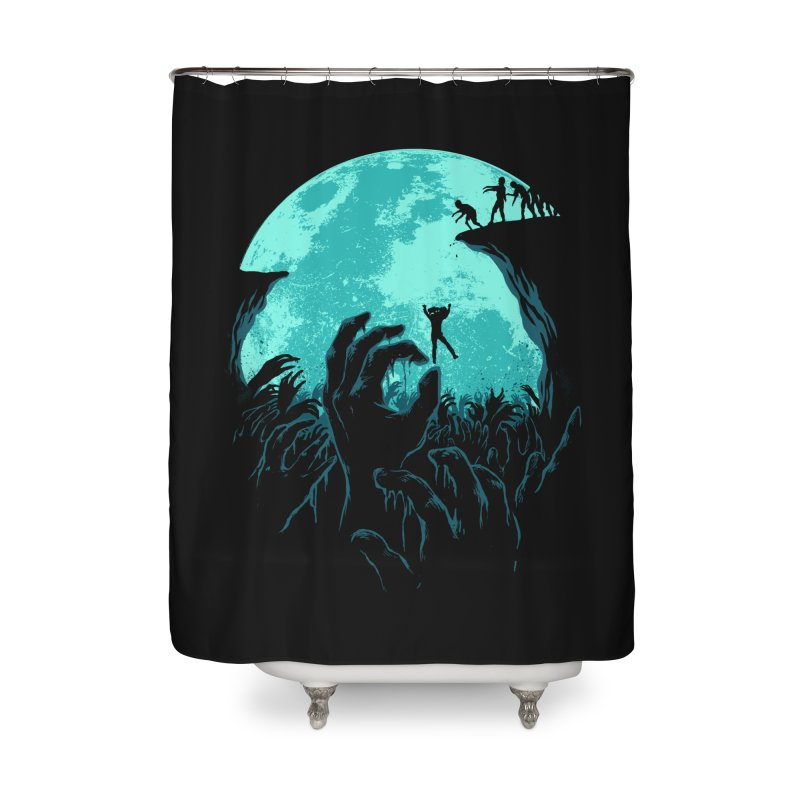 Sky Fall Home Shower Curtain by Fathi