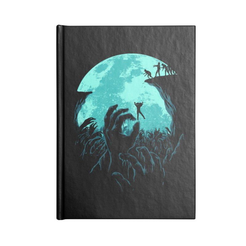 Sky Fall Accessories Blank Journal Notebook by Fathi