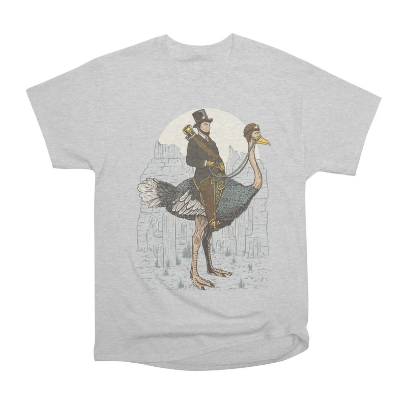 The Lone Ranger Men's Heavyweight T-Shirt by Fathi