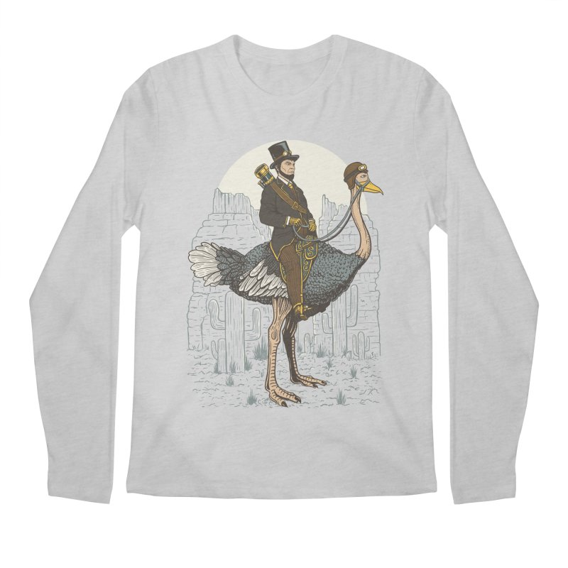 The Lone Ranger Men's Longsleeve T-Shirt by Fathi