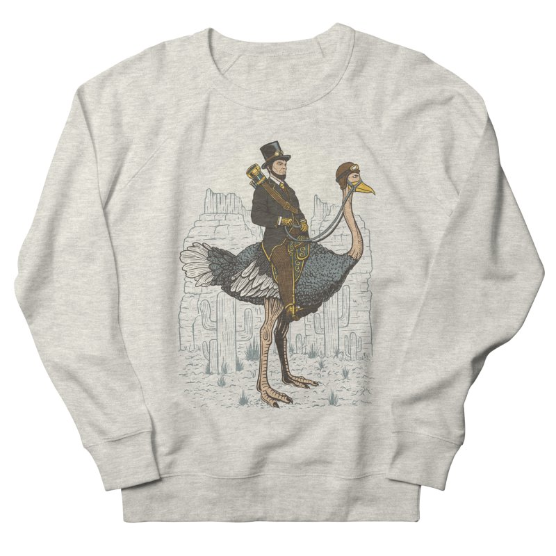 The Lone Ranger Men's French Terry Sweatshirt by Fathi