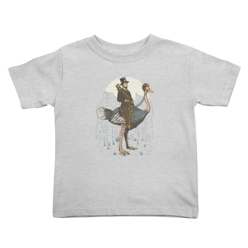 The Lone Ranger Kids Toddler T-Shirt by Fathi