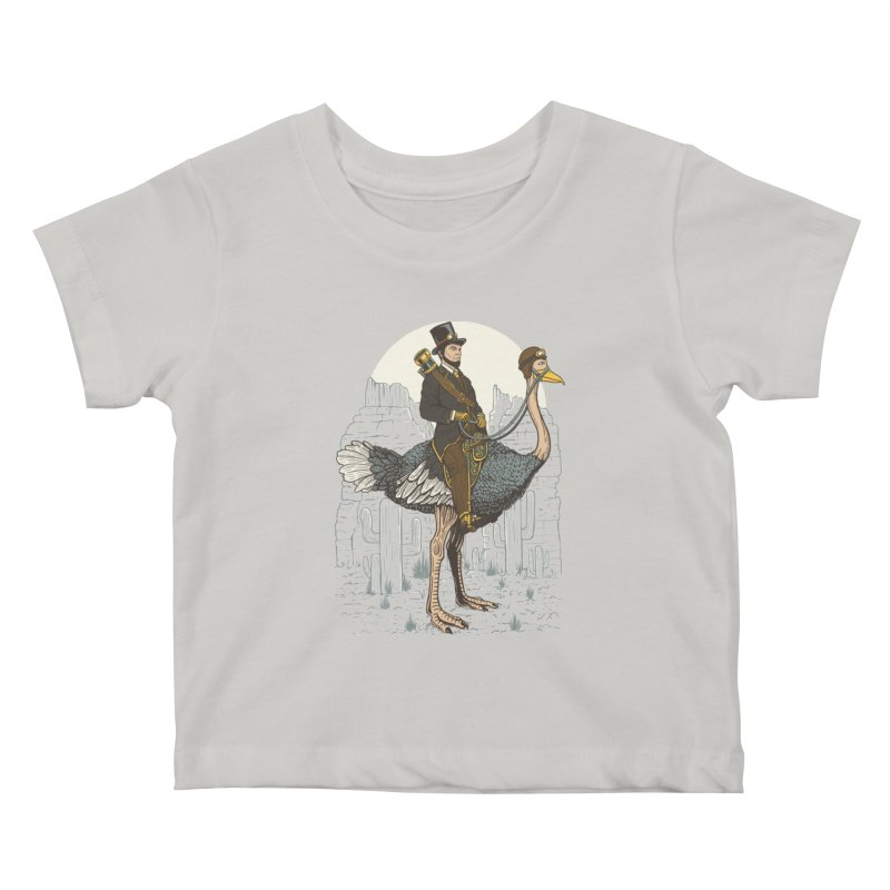 The Lone Ranger Kids Baby T-Shirt by Fathi