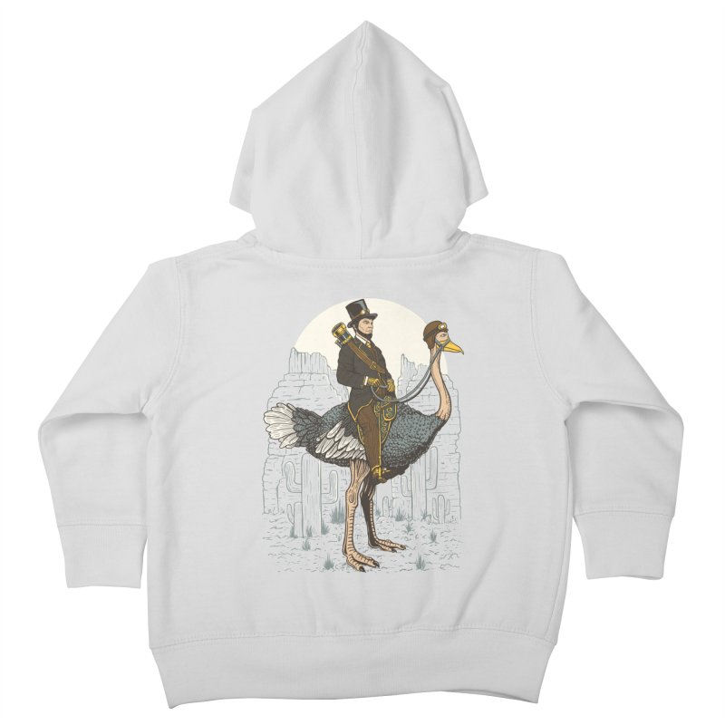 The Lone Ranger Kids Toddler Zip-Up Hoody by Fathi