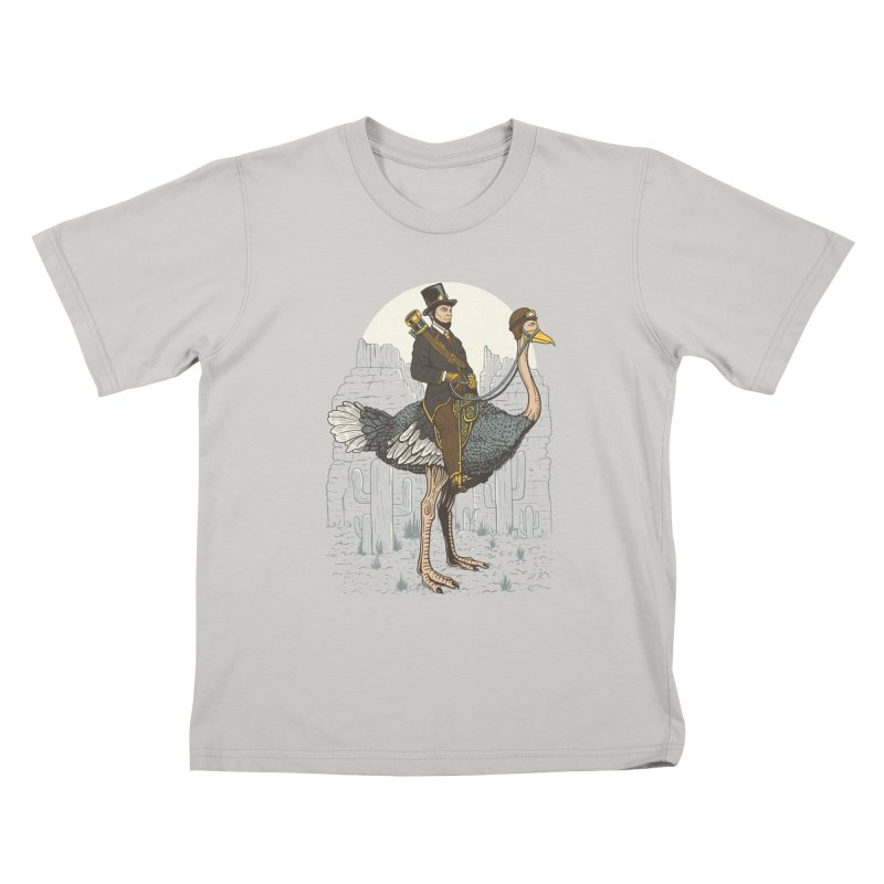 The Lone Ranger Kids T-Shirt by Fathi