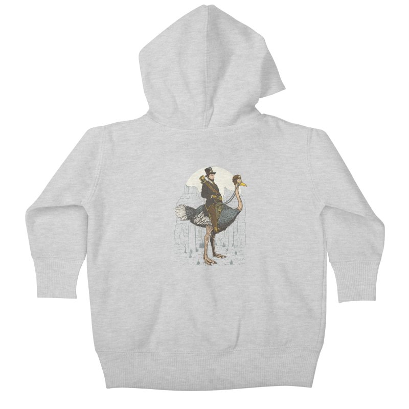 The Lone Ranger Kids Baby Zip-Up Hoody by Fathi