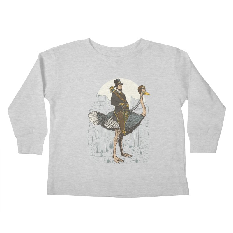 The Lone Ranger Kids Toddler Longsleeve T-Shirt by Fathi