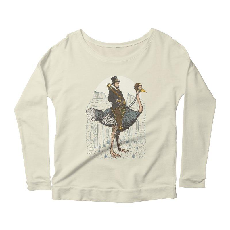 The Lone Ranger Women's Scoop Neck Longsleeve T-Shirt by Fathi