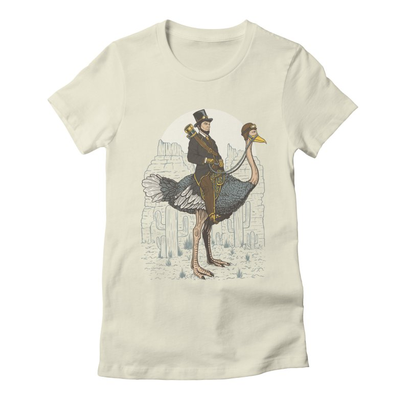 The Lone Ranger Women's Fitted T-Shirt by Fathi