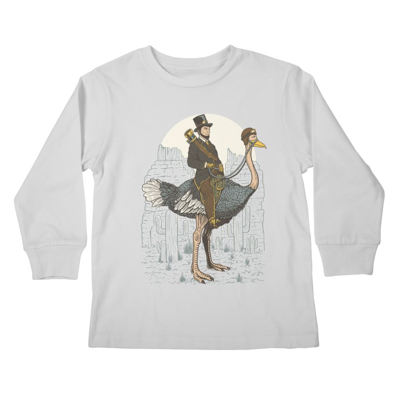 The Lone Ranger Kids Longsleeve T-Shirt by Fathi