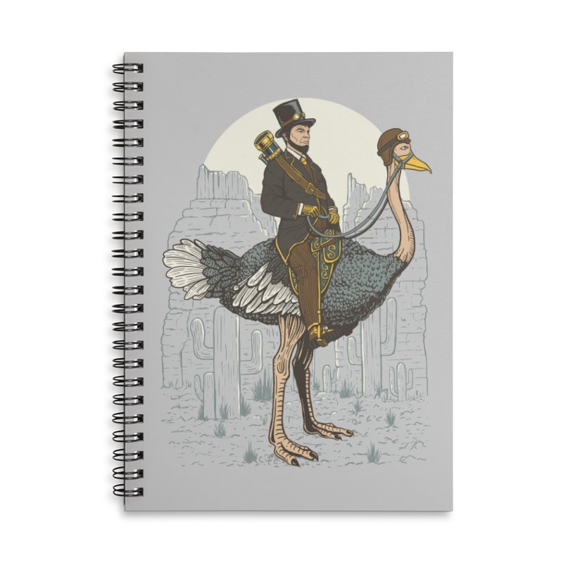 The Lone Ranger Accessories Lined Spiral Notebook by Fathi