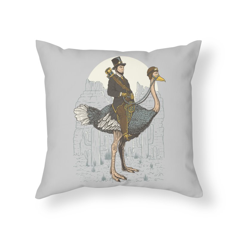 The Lone Ranger Home Throw Pillow by Fathi