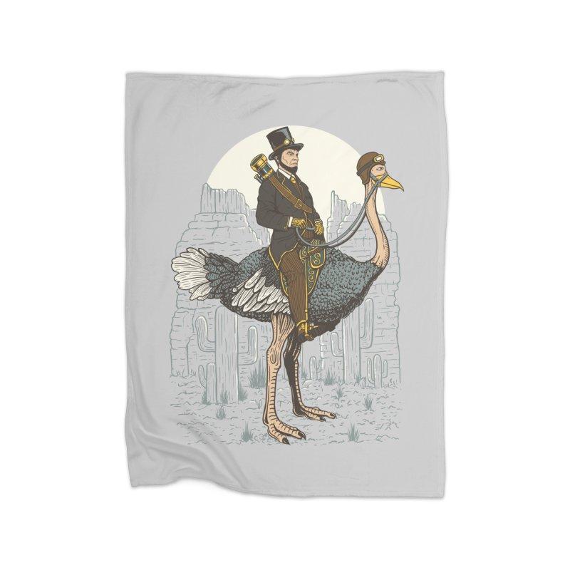 The Lone Ranger Home Fleece Blanket Blanket by Fathi