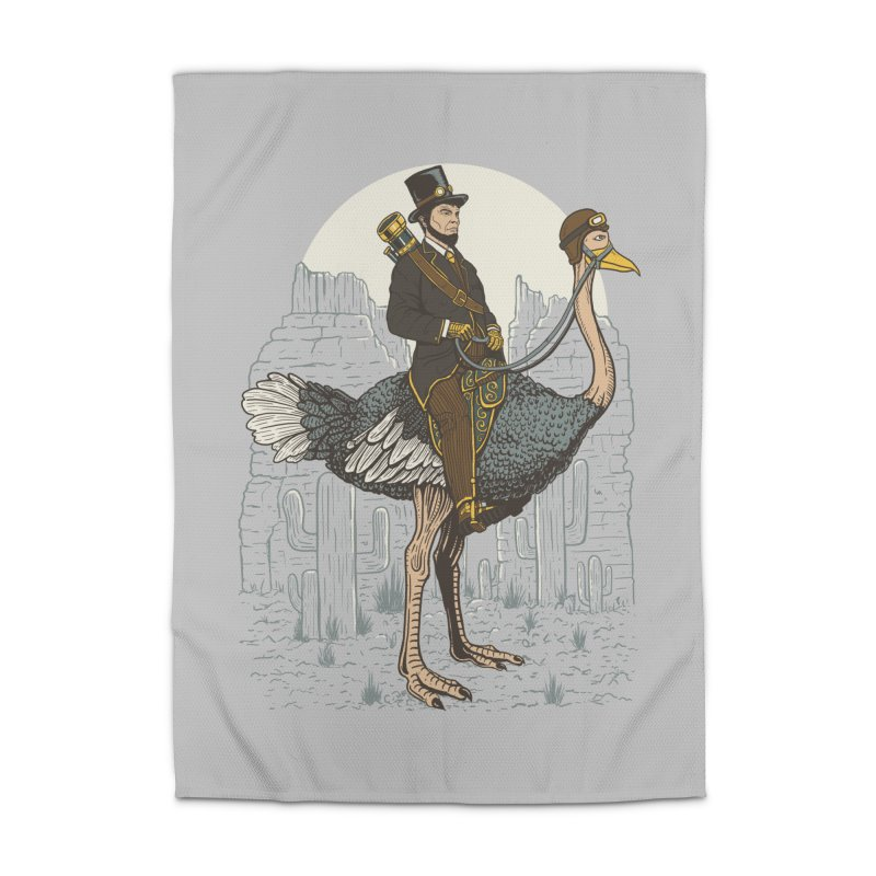 The Lone Ranger Home Rug by Fathi