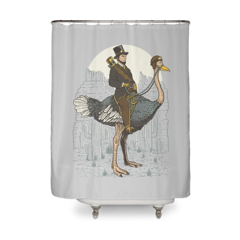 The Lone Ranger Home Shower Curtain by Fathi