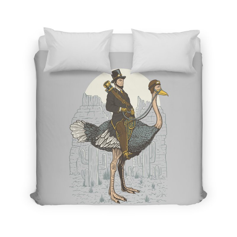 The Lone Ranger Home Duvet by Fathi