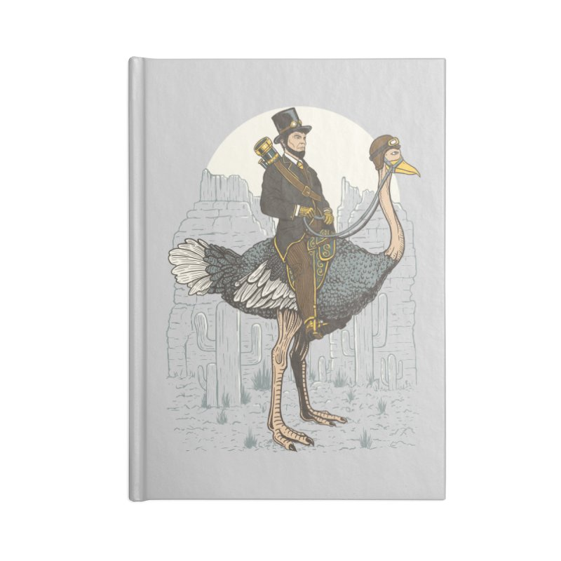 The Lone Ranger Accessories Blank Journal Notebook by Fathi