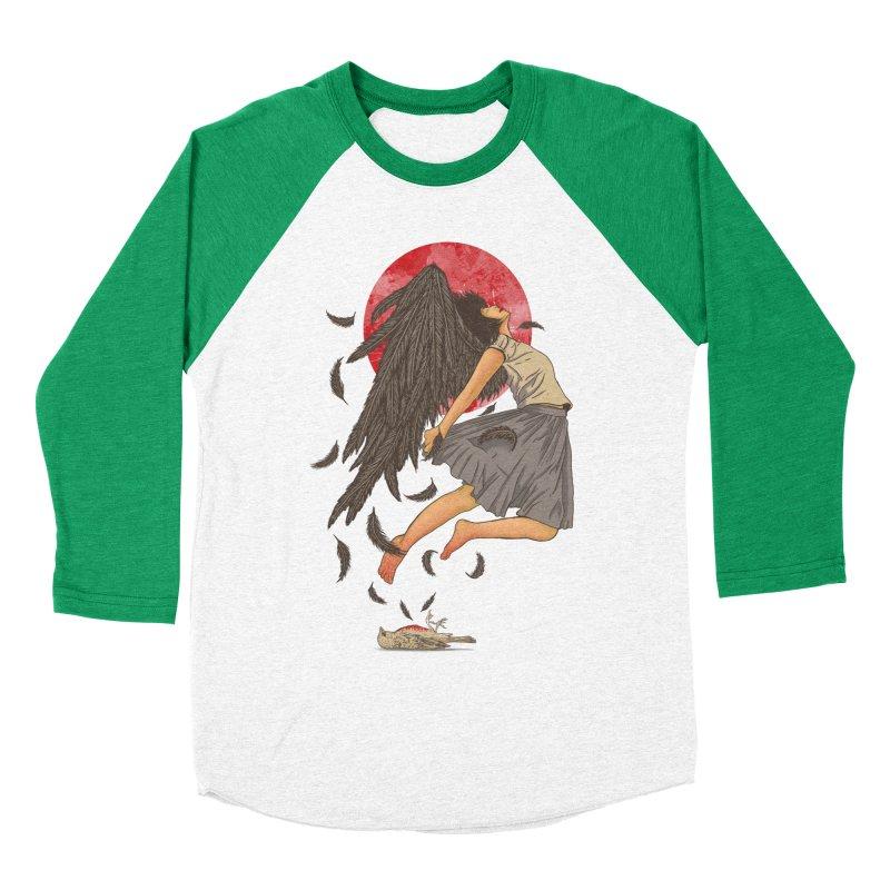 Rebirth Women's Baseball Triblend Longsleeve T-Shirt by Fathi