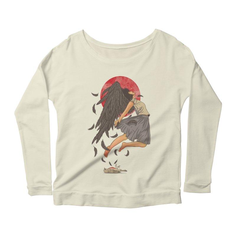 Rebirth Women's Scoop Neck Longsleeve T-Shirt by Fathi