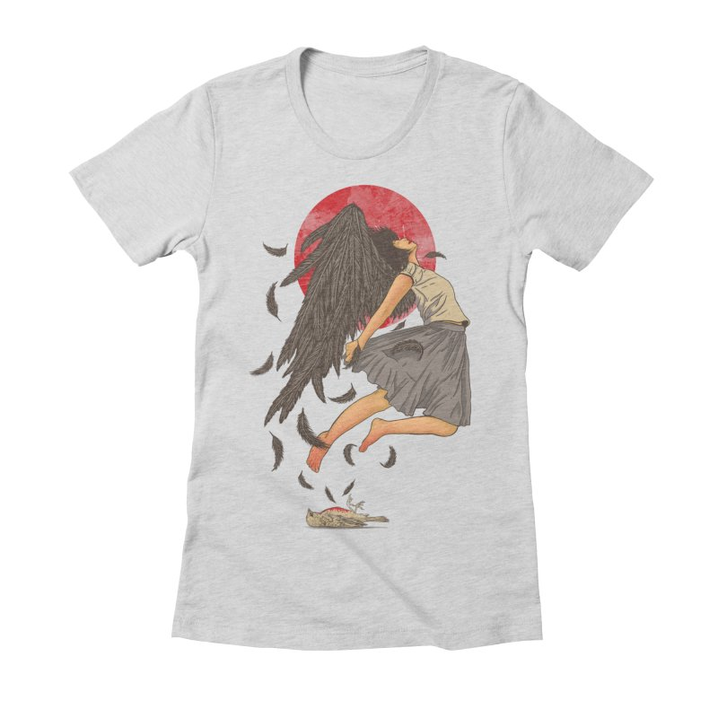 Rebirth Women's Fitted T-Shirt by Fathi