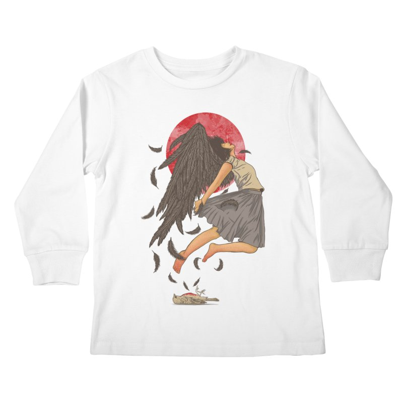 Rebirth Kids Longsleeve T-Shirt by Fathi