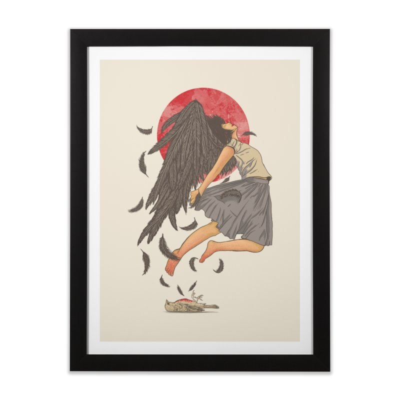 Rebirth Home Framed Fine Art Print by Fathi