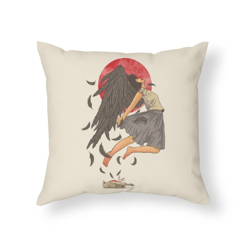 Rebirth Home Throw Pillow by Fathi
