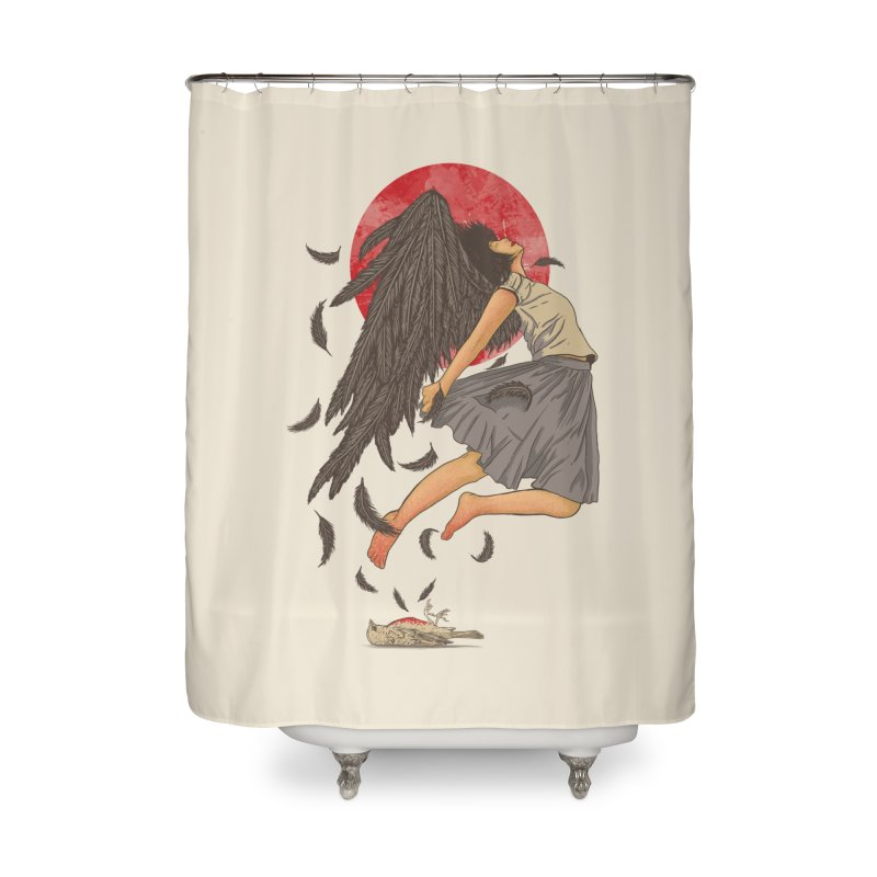 Rebirth Home Shower Curtain by Fathi