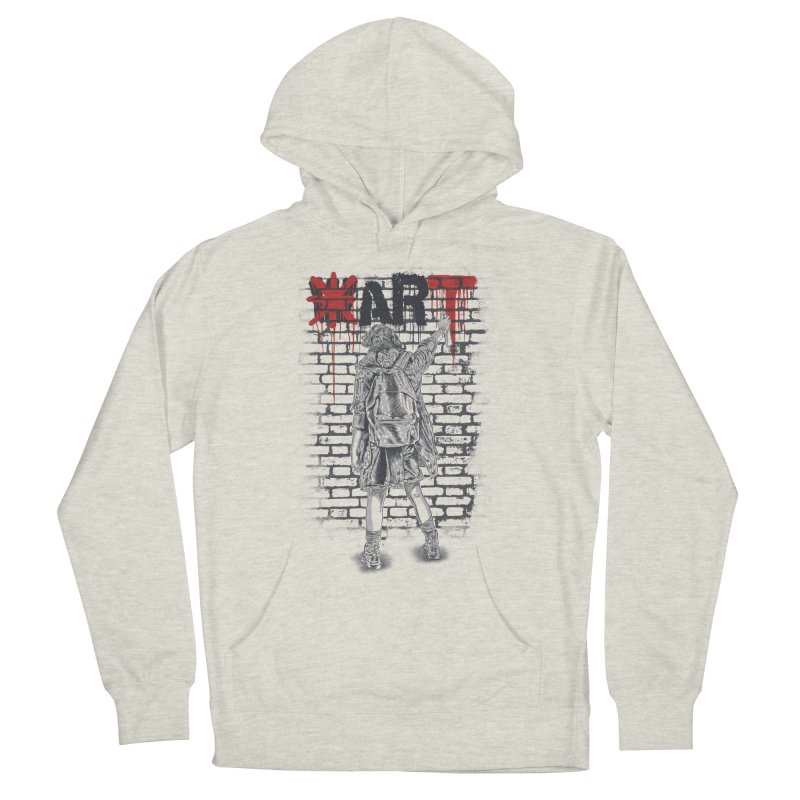 Make Art Not War Women's Pullover Hoody by Fathi