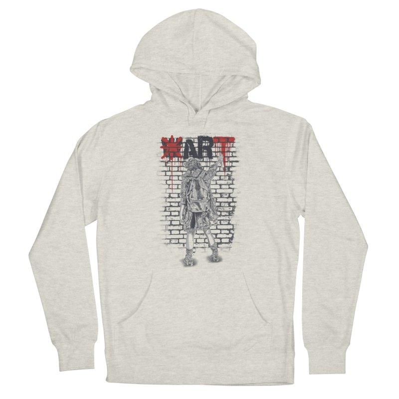 Make Art Not War Women's Pullover Hoody by Fathi