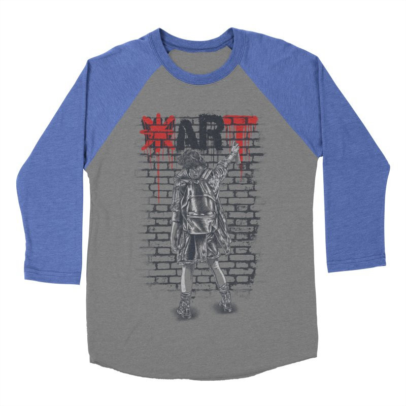 Make Art Not War Men's Longsleeve T-Shirt by Fathi