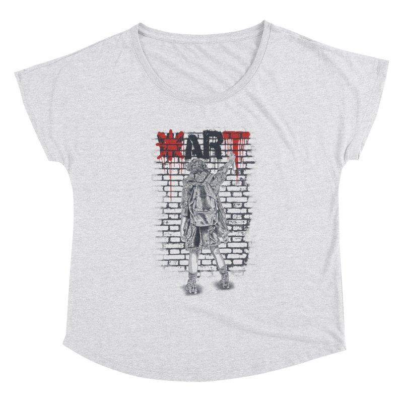 Make Art Not War Women's Scoop Neck by Fathi