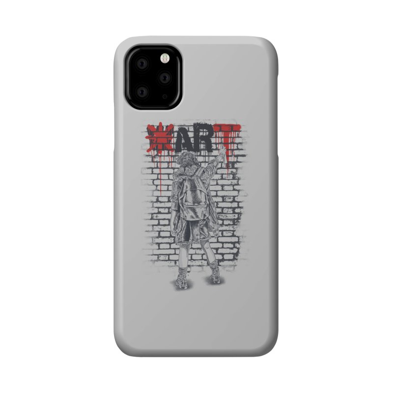 Make Art Not War Accessories Phone Case by Fathi