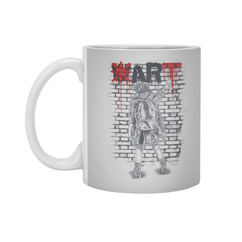 Make Art Not War Accessories Mug by Fathi