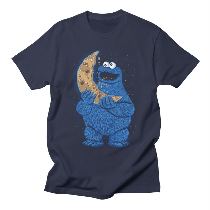 Cookie Moon Men's T-Shirt by Fathi