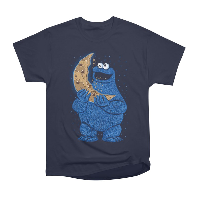 Cookie Moon Men's Heavyweight T-Shirt by Fathi