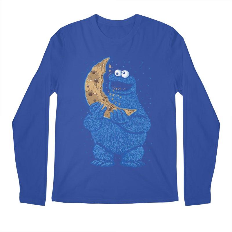 Cookie Moon Men's Regular Longsleeve T-Shirt by Fathi