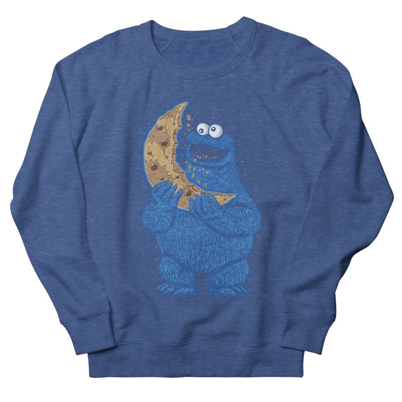 Cookie Moon Men's French Terry Sweatshirt by Fathi