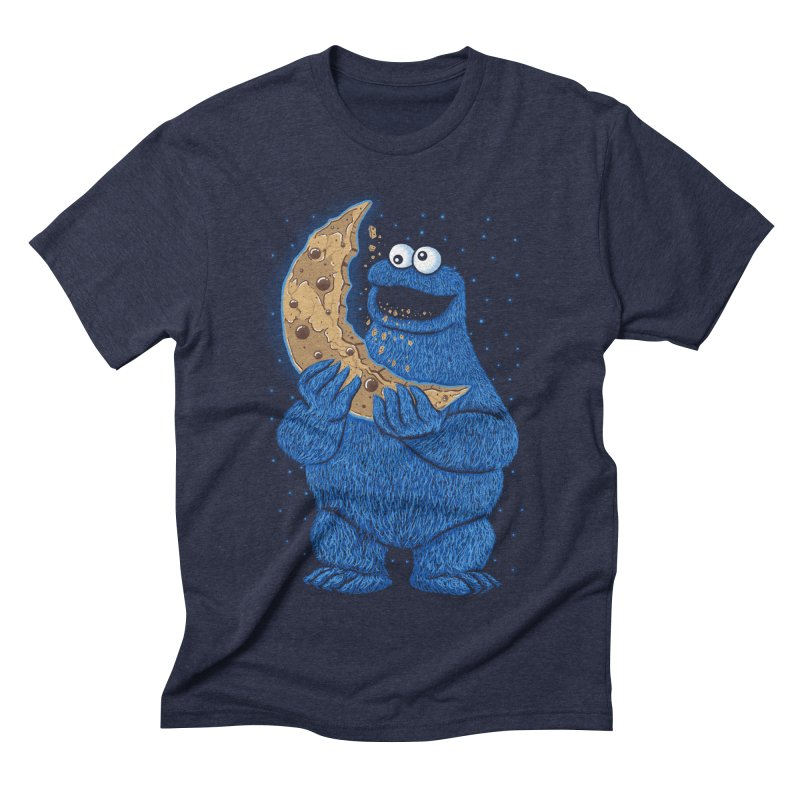 Cookie Moon Men's Triblend T-Shirt by Fathi