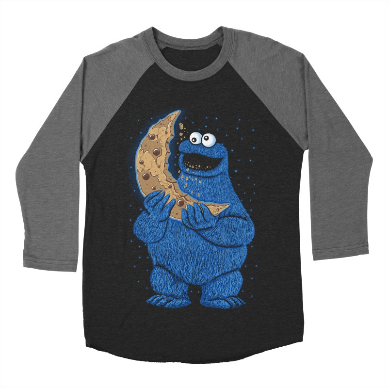 Cookie Moon Men's Baseball Triblend T-Shirt by Fathi