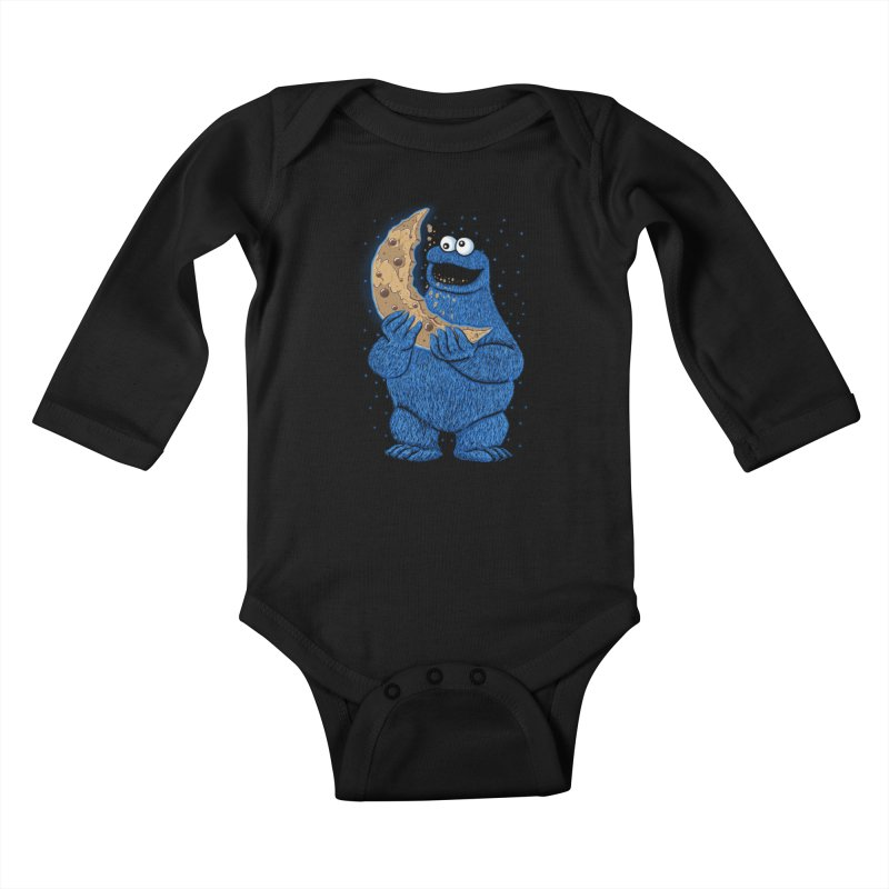 Cookie Moon Kids Baby Longsleeve Bodysuit by Fathi
