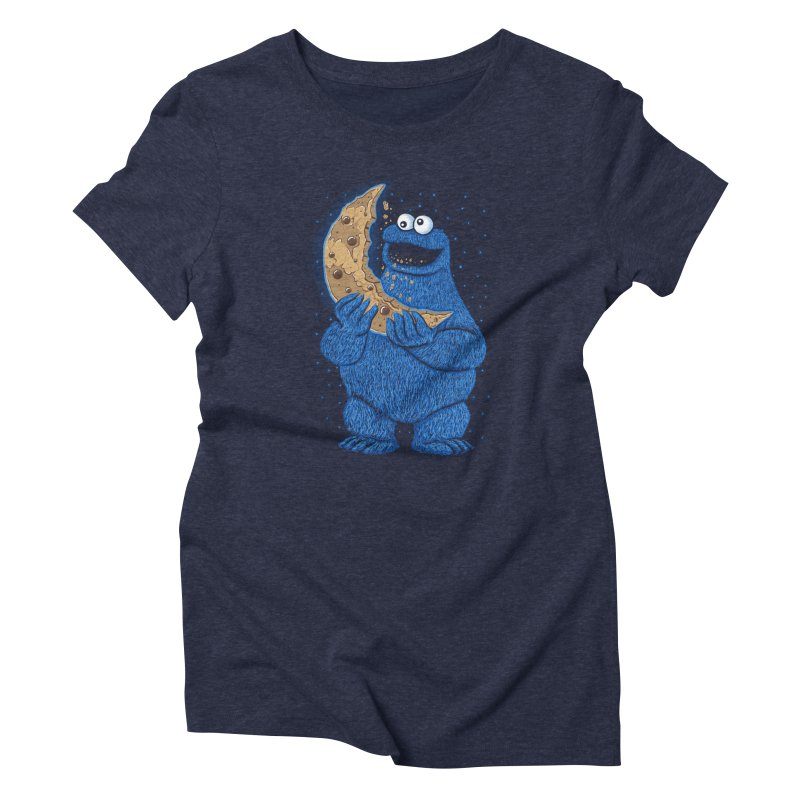 Cookie Moon Women's T-Shirt by Fathi