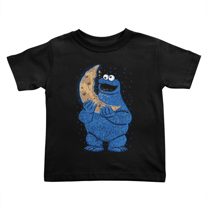 Cookie Moon Kids Toddler T-Shirt by Fathi