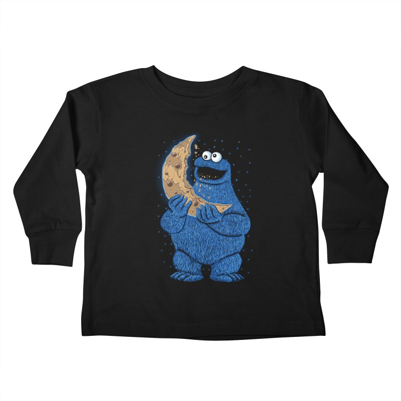 Cookie Moon Kids Toddler Longsleeve T-Shirt by Fathi