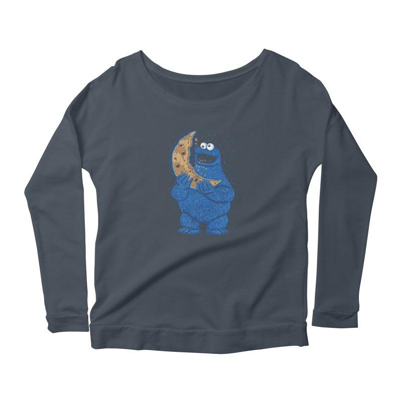 Cookie Moon Women's Longsleeve T-Shirt by Fathi