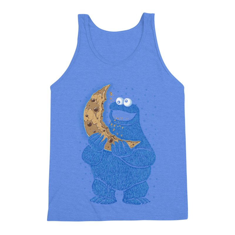 Cookie Moon Men's Triblend Tank by Fathi