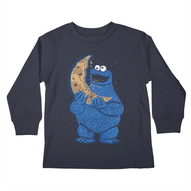 Cookie Moon Kids Longsleeve T-Shirt by Fathi