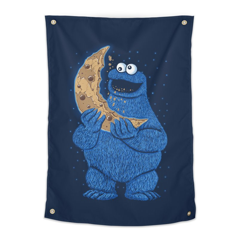Cookie Moon Home Tapestry by Fathi