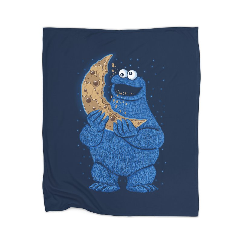 Cookie Moon Home Blanket by Fathi