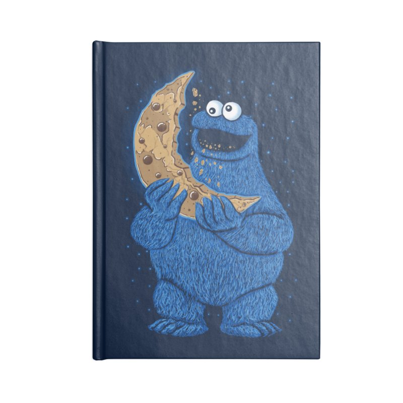Cookie Moon Accessories Blank Journal Notebook by Fathi